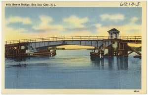 44th Street Bridge, Sea Isle City, N. J.