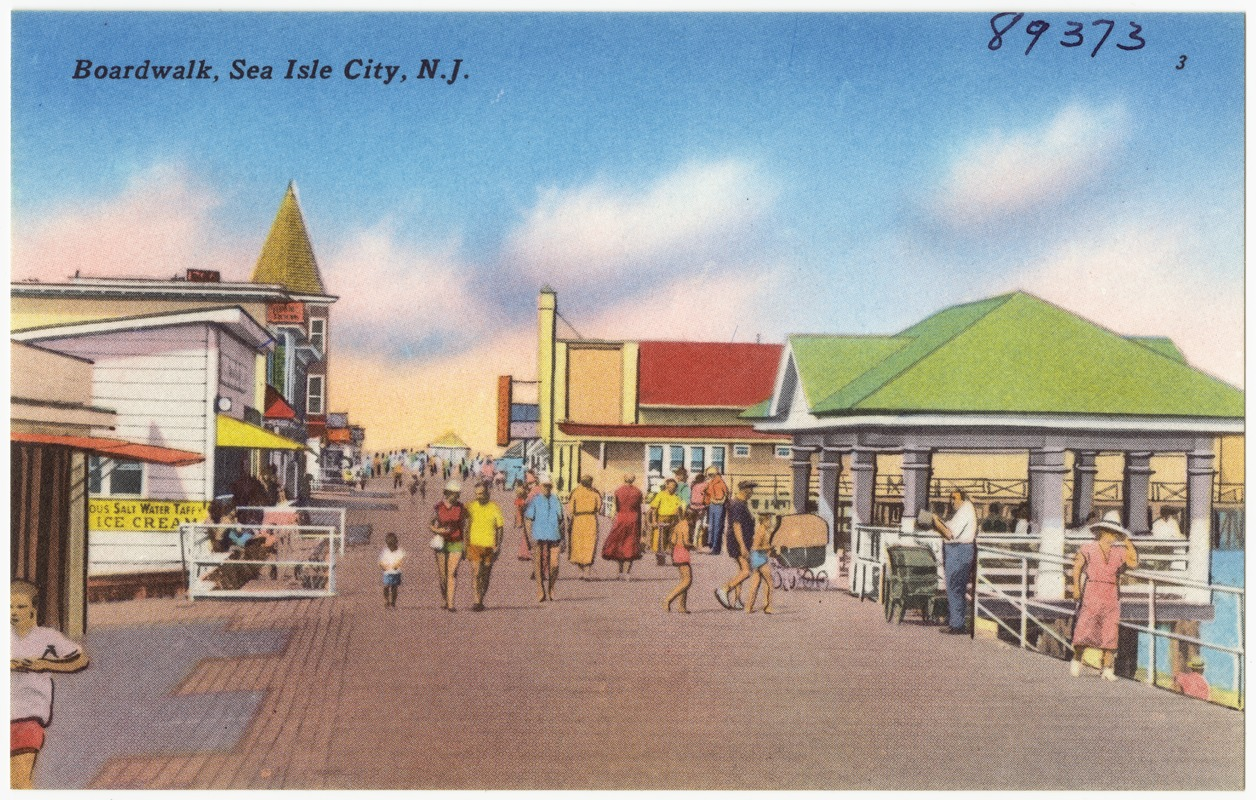 Boardwalk Sea Isle City N J