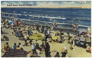 Beach scene, Seaside Heights, N. J.