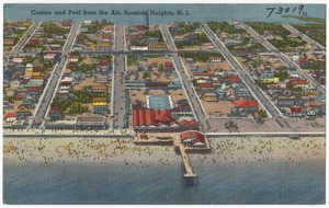 Casino and pool from the air, Seaside Heights, N. J.