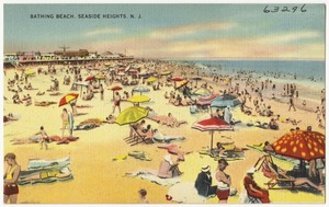 Bathing beach, Seaside Heights, N. J.
