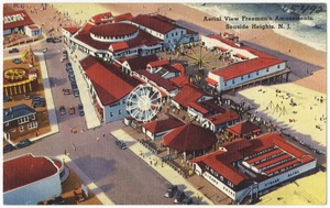 Aerial view, Freeman's Amusements, Seaside Heights, N. J.