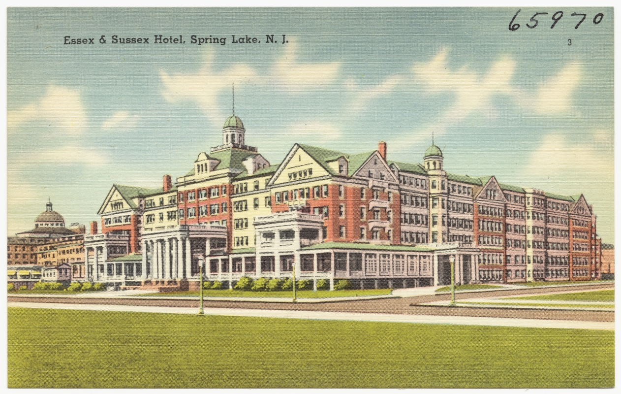 Essex & Sussex Hotel, Spring Lake, N. J.