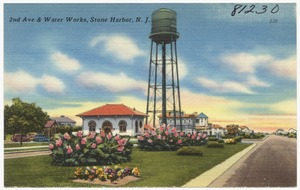 2nd Ave & water works, Stone Harbor, N. J.