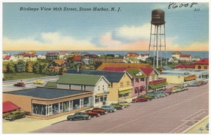 Birdseye view 96th Street, Stone Harbor, N. J.