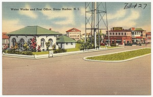 Water works and post office, Stone Harbor, N. J.