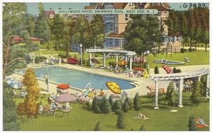 Hollywood Hotel swimming pool, West End, N. J.