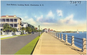 East Battery, looking north, Charleston, S. C.