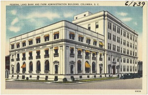 Federal Land Bank and Farm Administration Building, Columbia, S. C.