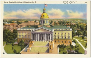 State Capitol Building, Columbia, S. C.