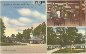 McCain's Tavern and Tourist Cottages, 2 miles north of Florence, S. C.