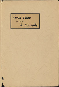 Good time on your automobile