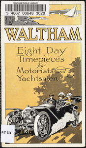 Waltham eight day timepieces for motorists and yachtsmen