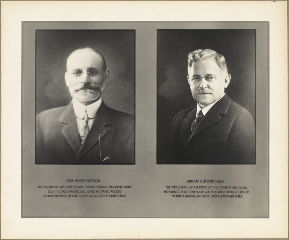 The founders of the Stetson Shoe Company