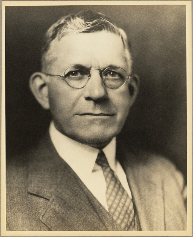 Wilton L. Hawes, director and superintendent