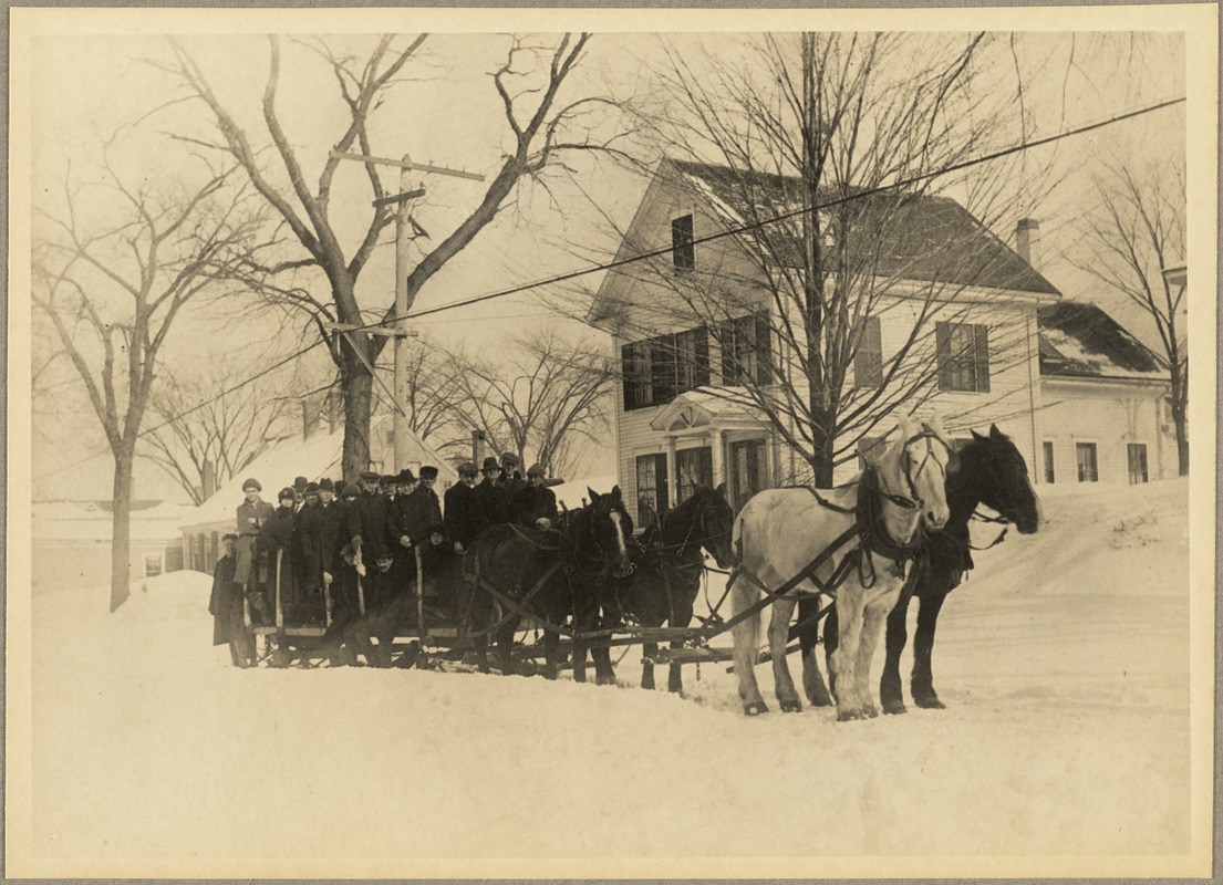 A heavy snowstorm did not stop production in 1920