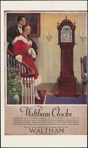 Waltham Watch Company, miscellaneous advertisements