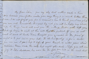 Letter from Julia Temple Davis Long to John D. Long, September 1853