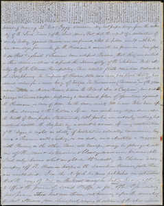 Correspondence from Zadoc Long to John D. Long, October 22 and October 27, 1853