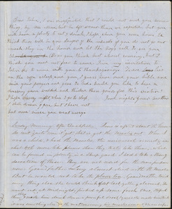 Letter from Zadoc Long and Julia Temple Davis Long to John D. Long, October 28, 1853