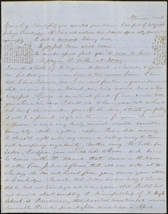 Letter from Zadoc Long to John D. Long, March 20, 1854