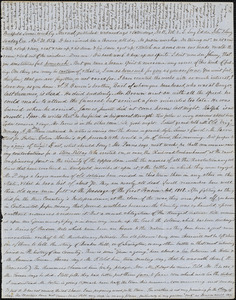 Letter from Zadoc Long to John D. Long, April 30, 1854