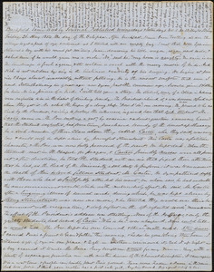 Letter from Zadoc Long to John D. Long, May 26, 1854