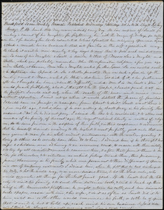 Letter from Zadoc Long to John D. Long and Zadoc Long Jr., June 6, 1854