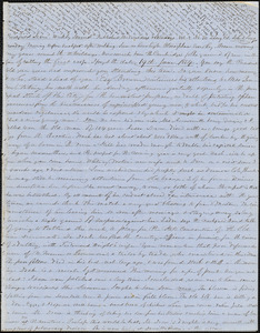 Letter from Zadoc Long to John D. Long, June 19, 1854