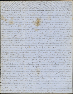 Letter from Zadoc Long to John D. Long, July 9, 1854