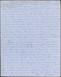 Letter from Zadoc Long and Julia Temple Davis Long to John D. Long, April 22, 1855