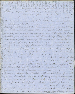 Letter from Zadoc Long and Julia Temple Davis Long to John D. Long, April 27, 1855