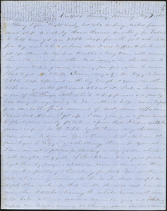 Letter from Zadoc Long to John D. Long, May 7, 1855