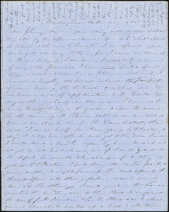 Letter from Zadoc Long and Julia Temple Davis Long to John D. Long, May 14, 1855