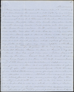 Letter from Zadoc and Julia Long to John D. Long, October 1855