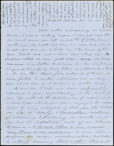 Letter from Zadoc and Julia Long to John D. Long, March 8 - 17, 1856