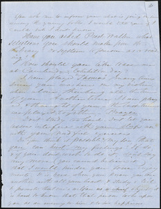 Letter from Zadoc Long to John D. Long, 1856