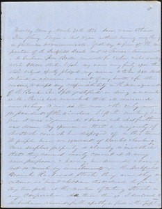 Letter from Zadoc and Julia Long to John D. Long, March 20-30, 1856