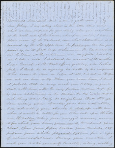 Letter from Zadoc and Julia Long to John D. Long, June 25-27, 1856