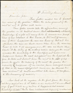 Letter from Percival W. Bartlett and Zadoc Long to John D. Long, 1856