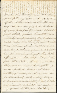 Letter from Zadoc Long to John D. Long, November 13-15, 1856