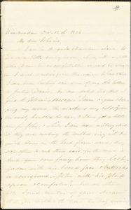 Letter from Zadoc Long to John D. Long, December 12-29, 1856