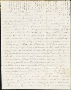 Letter from Zadoc Long to John D. Long, February 3-6, 1860