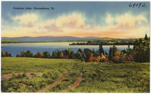 Caspian Lake, Greensboro, Vt.