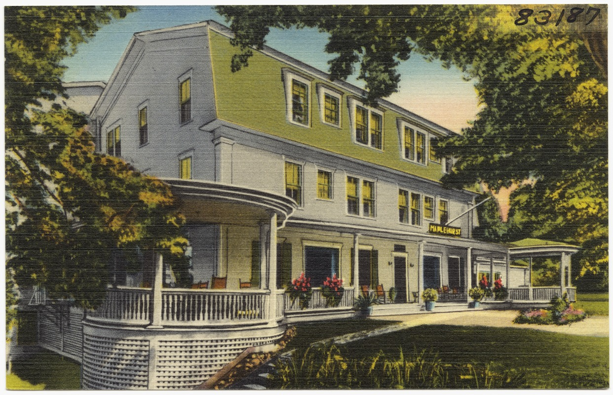 The Maplehurst Hotel In Heart Of White Mountains Bethlehem N H