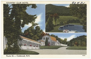 Country Club Motel, Route 26 -- Colebrook, N.H.
