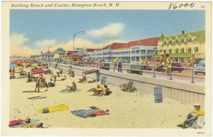 Bathing beach and casino, Hampton Beach, N.H.
