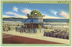 Band stand, Hampton Beach, N.H.