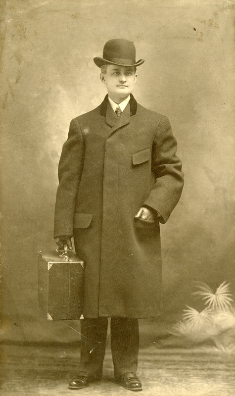 Charles Eugene Monroe one of the first optometrists in the USA: offices in Southbridge Massachusetts