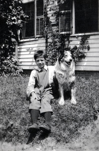 Ernest with Dog